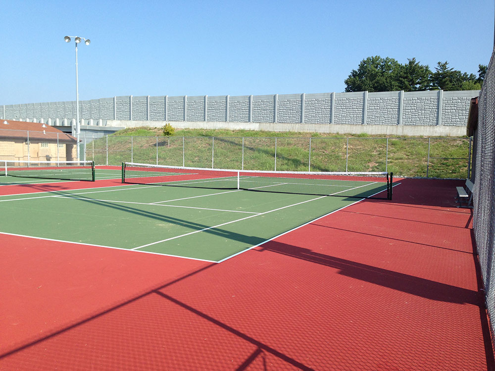 Ab Green Tennis Courts Veejay Cement